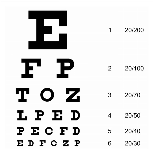 Snellen-Eye-Chart-Template
